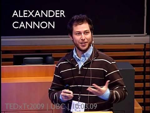 TEDxTerryTalks - Alexander Cannon - 10/03/09