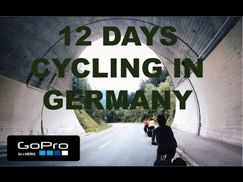 12 Days Cycling in Germany - Gopro Hero