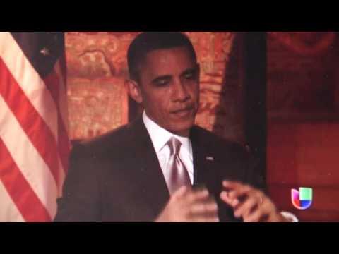Obama en Univisión dice que no se están respetando las libertades en Venezuela