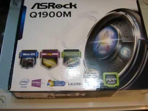 Материнская плата ASRock Q1900M (Intel Quad-Core J1900, SoC, PCI-Ex16)