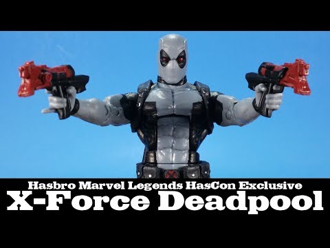 Marvel Legends X-Force Deadpool HasCon Exclusive Hasbro