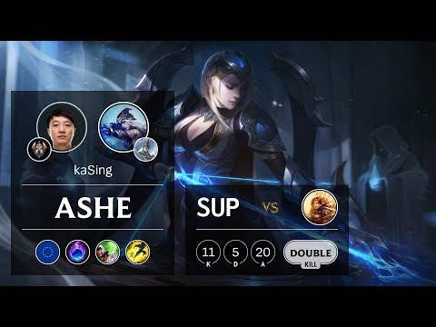 Ashe Support vs Leona - EUW Challenger Patch 9.24