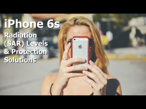 iPhone 6s Radiation (SAR) Level & Radiation Protection Solutions
