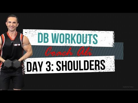 Day 3: Dumbbell Workout Shoulders & Abs