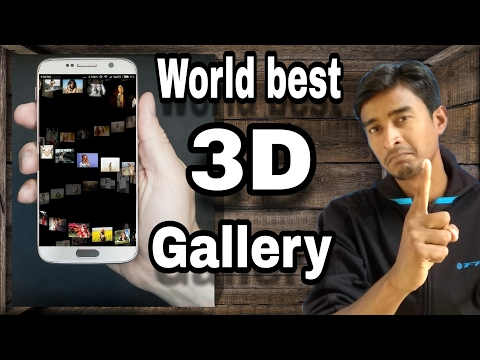3d Gallery | 3D Android Gallery App | 3d Photo Gallery App