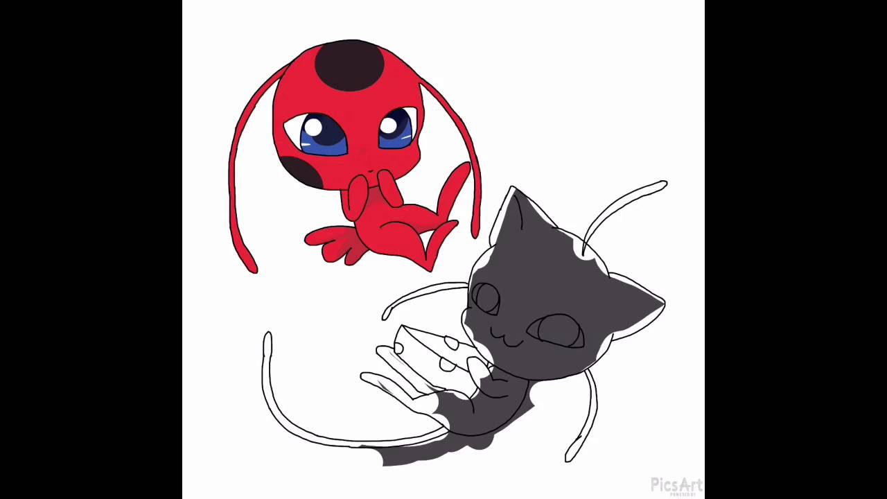 Miraculous Ladybug Tikki And Plagg Youtube