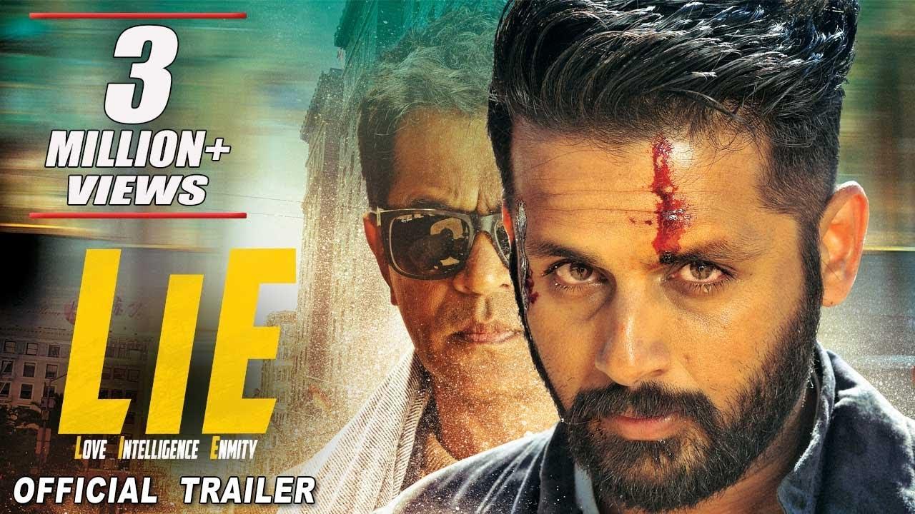 Download LIE (2017) Official Hindi Trailer | Nithiin, Arjun, Megha, Ravi Kishan | In Cinemas Oct 6th