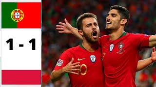 Ma reaction PORTUGAL VS POLOGNE 1 - 1 ( UEFA la Ligue des nations J4 )