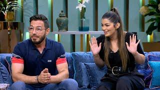 لعبة لحظة الحقيقة بين أحمد زاهر وبنته ليلى زاهر مع منى الشاذلي