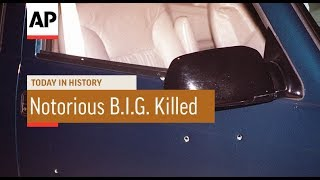 Notorious B.I.G. Killed - 1997 | Today In History | 9 Mar 18