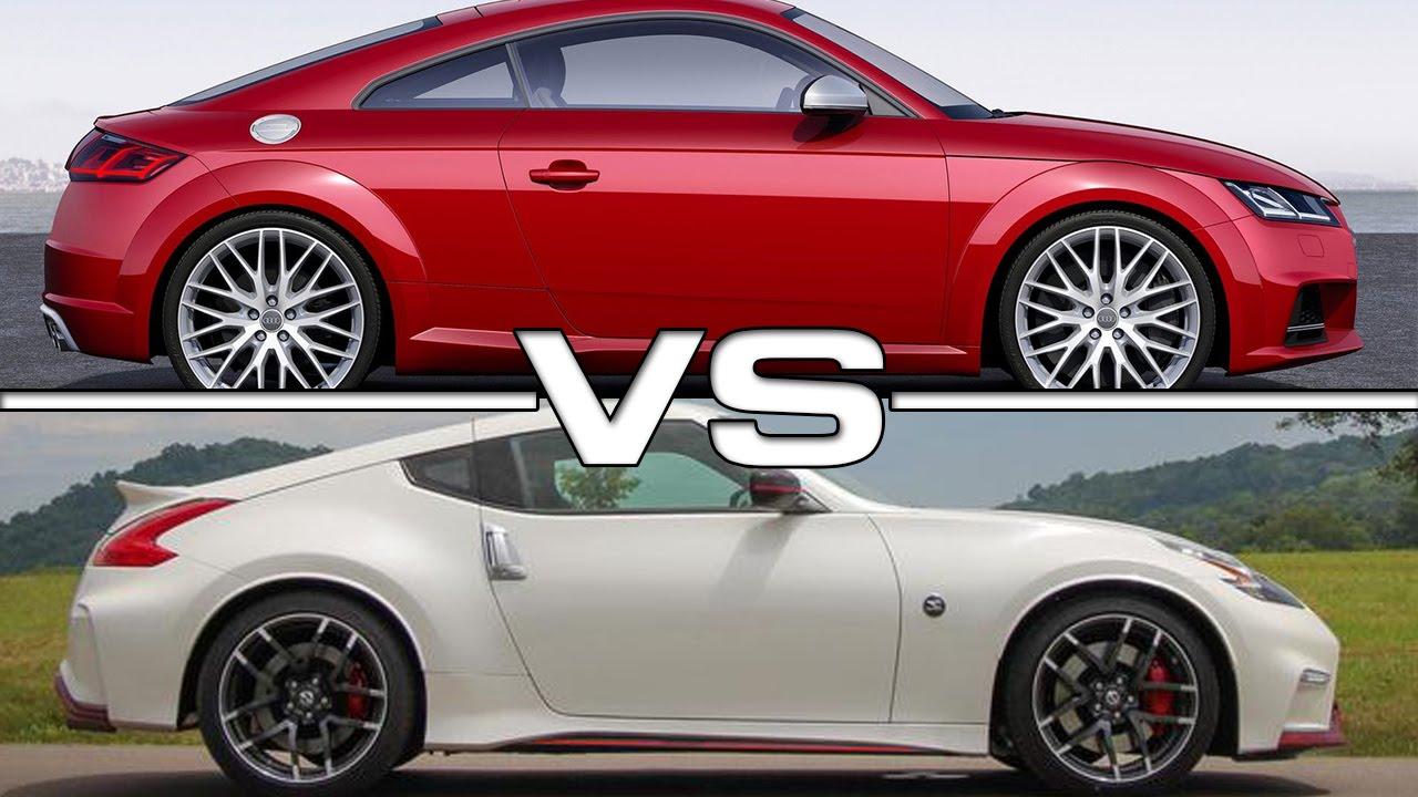 Audi Tts Vs Nissan 370z Nismo Road Test Youtube