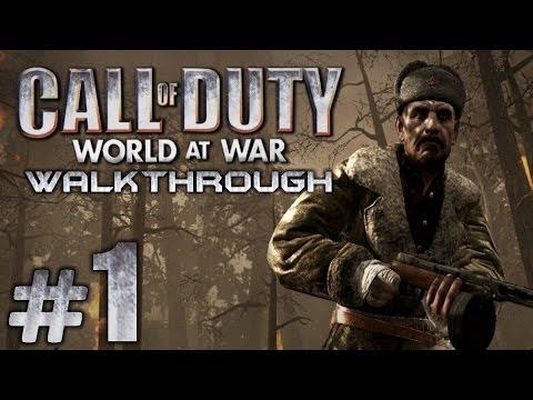 Прохождение Call of Duty 5: World at War - Миссия №1 - Всегда готов