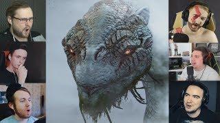 """""""Реакции Летсплейщиков"""" на Мирового Змея из God of War 4"""
