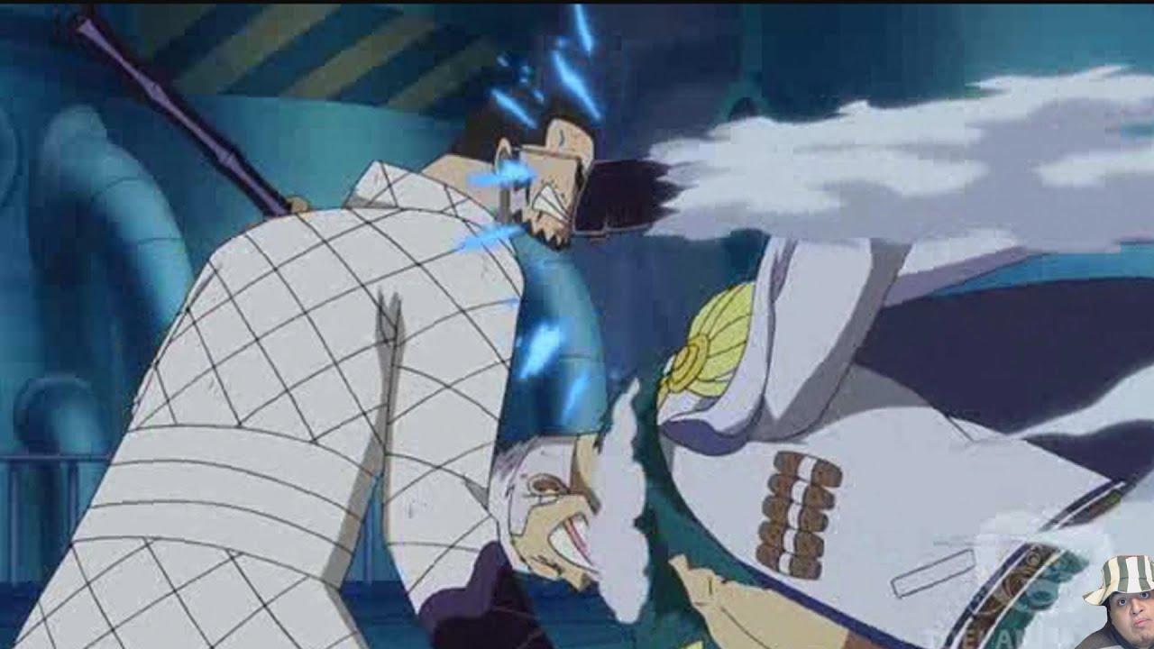 Ranks In Marine >> One Piece Episode 610 ワンピース Review -- Smoker Vs Vergo ...