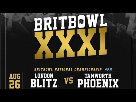 BRITBOWL XXXI | British American Football - Adult National Championship 2017