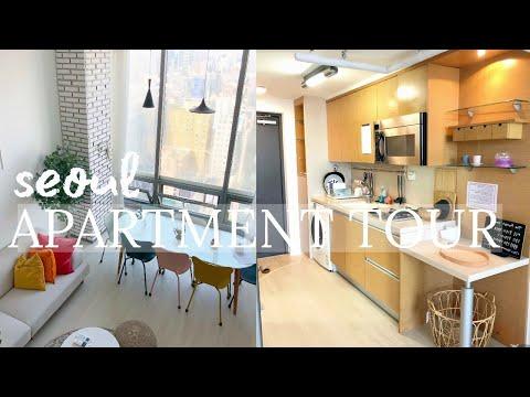 GANGNAM, SEOUL APARTMENT TOUR | Korean Loft Tour