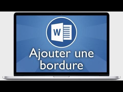 WORD 2010 BORDURE TÉLÉCHARGER ET TRAME