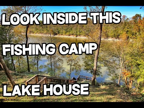 Lake house for sale, Lake front property KY, Fishing Camp, Herrington Lake Danville KY