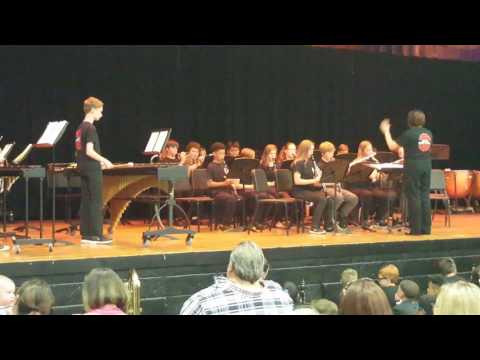 Band concert, Bryson Middle School May 2017