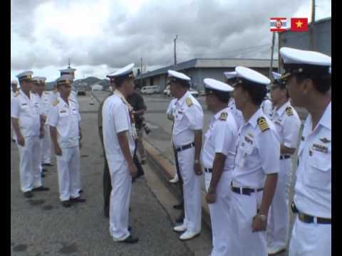 Tau Hai quan Viet Nam tham Thai Lan