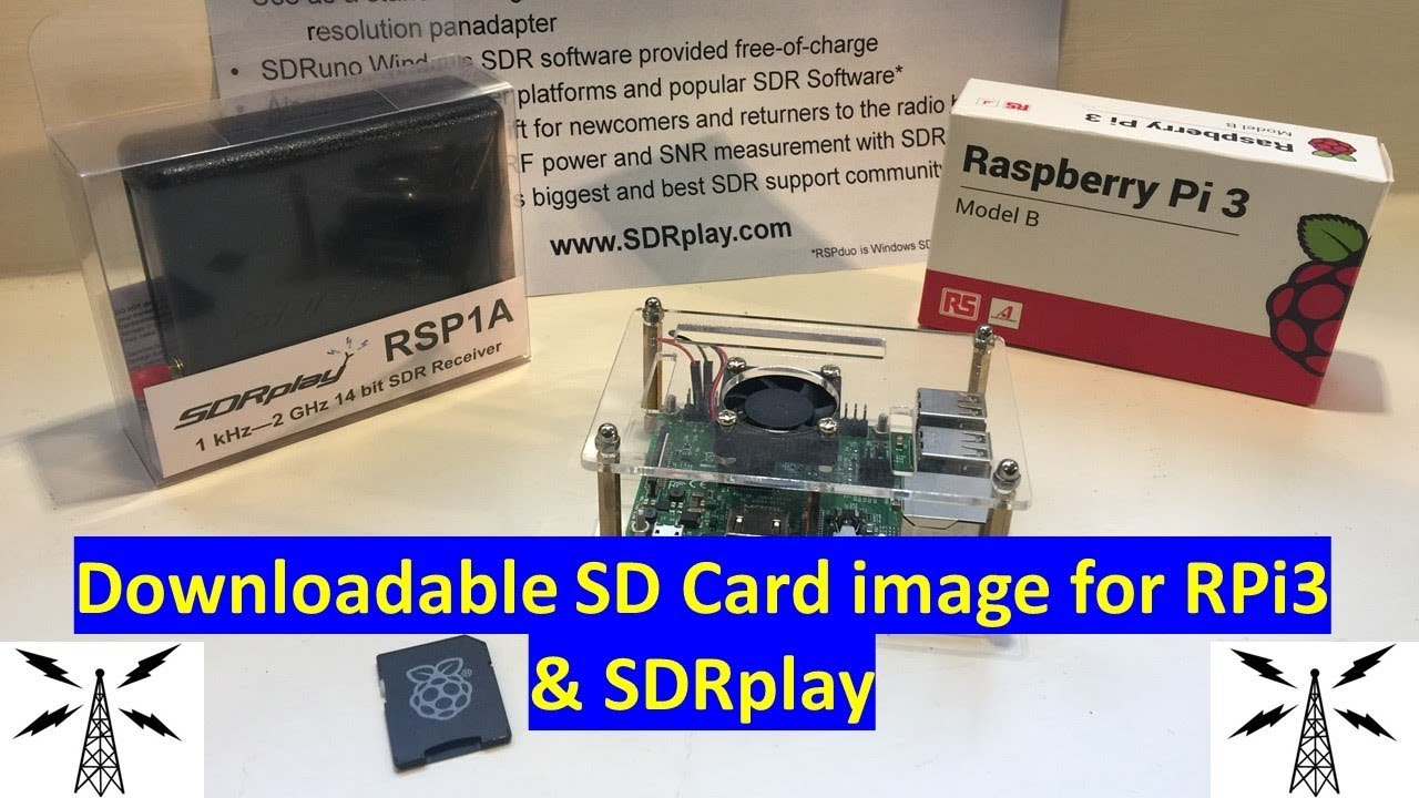 Introducing the SDRplay Raspberry Pi downloadable SD Card Image