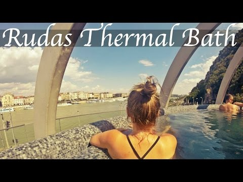 RUDAS THERMAL BATH, BUDAPEST | Daily Travel Vlog 142, Hungary, HD