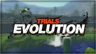 Trials Evolution | Front Flip Madness (Trials Funny Moments)