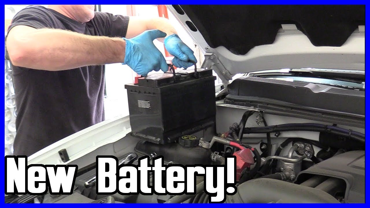 How to Replace the Battery Chevrolet Silverado Suburban ...