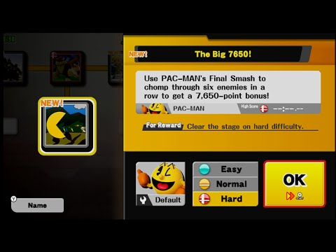 Super Smash Bros Wii U Events  - The Big 7650! (Hard Difficulty)