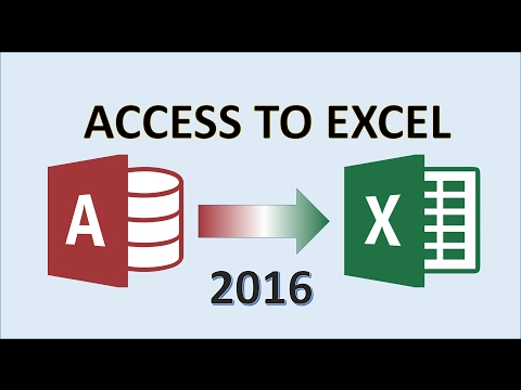 Access to Excel - How to Export Report Data from Access 2016 then Apply Formatting With Excel Form