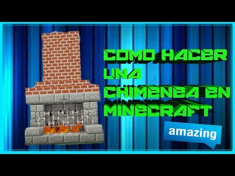 Como hacer una chimenea how to make a fireplace doovi for Como hacer una casa clasica de ladrillo en minecraft