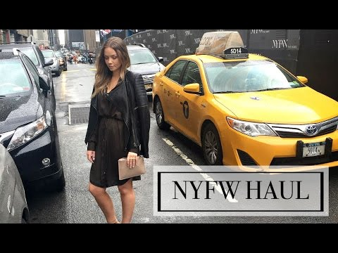 TRY ON Clothing Haul | New York Fashion Week Outfits |  Beauty.Life.Michelle