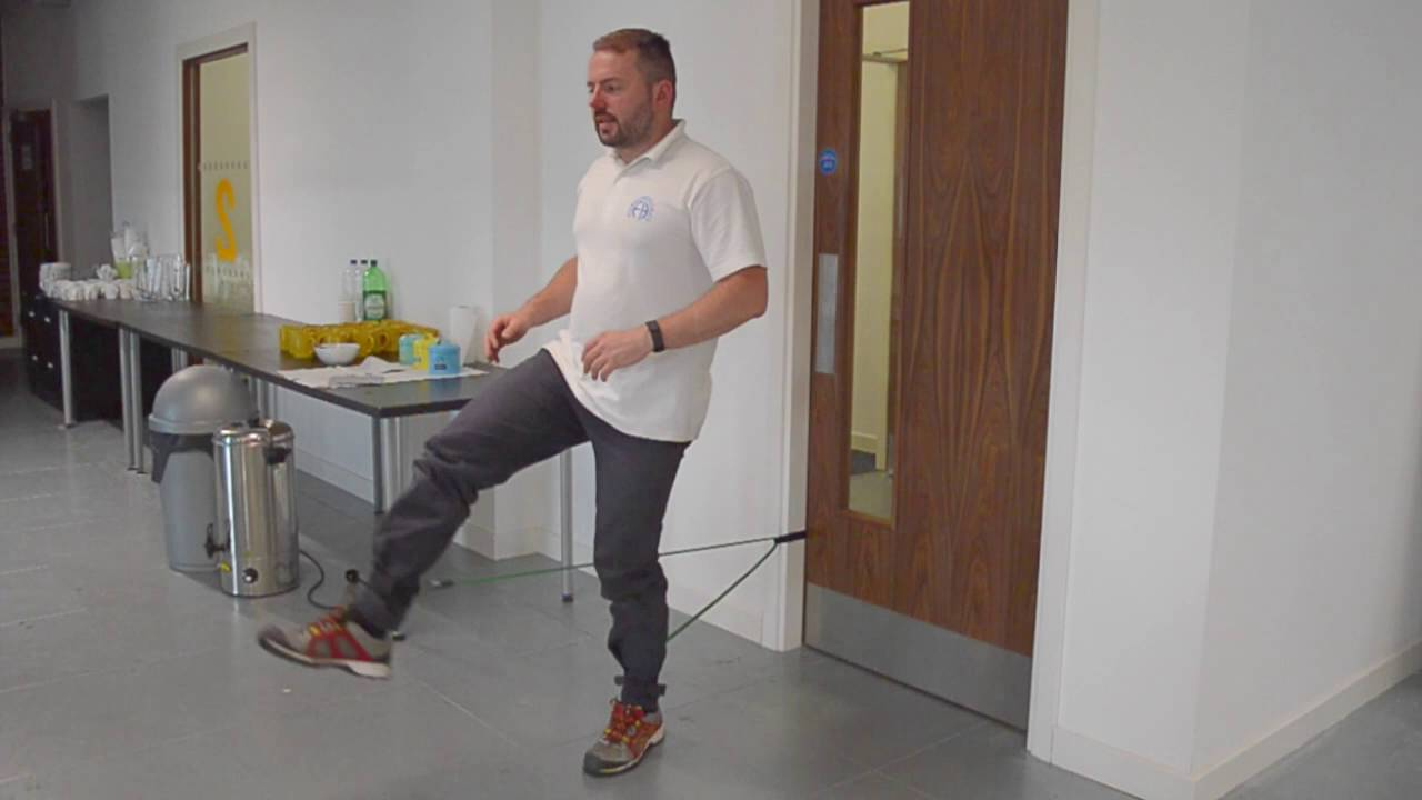 Resistance Band Door Exercises using the Ankle Straps  sc 1 st  YouTube & Resistance Band Door Exercises using the Ankle Straps - YouTube