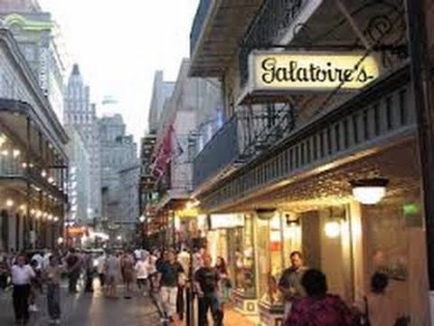 Bourbon Street Galatoires Restaurant Review 2017 New Orleans Usa