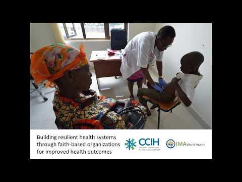 Webinar: Building resilient health systems through faith based organizations