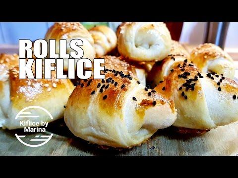 RECEPT: Kiflice sa sirom / sa viršlama (hrenovkama)