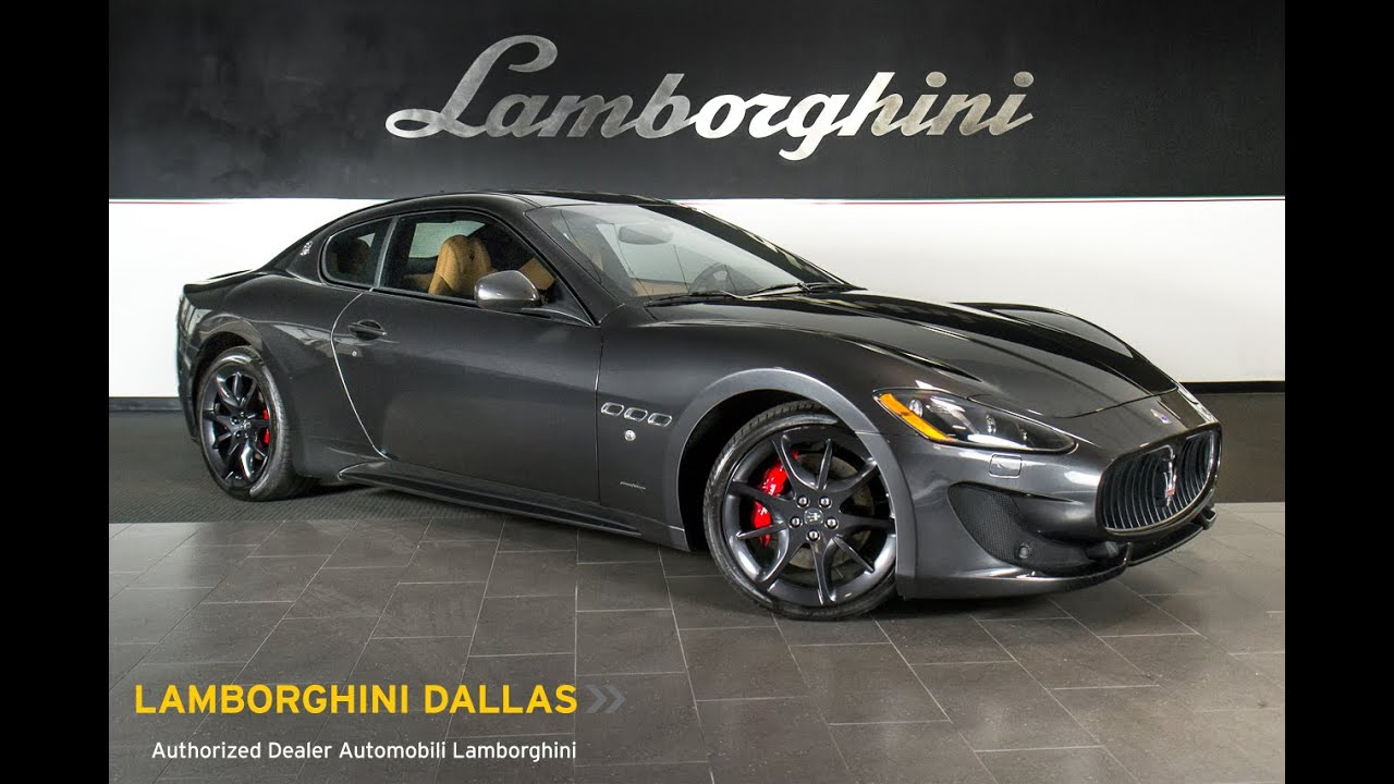 2017 Maserati Gran Turismo Sport Dark Metallic Gray L0751