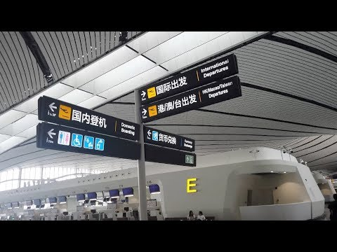Beijing Daxing International Airport provides a seamless experience