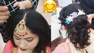 Baixar different and easy party wear hairstyle (for summer)🤗👍