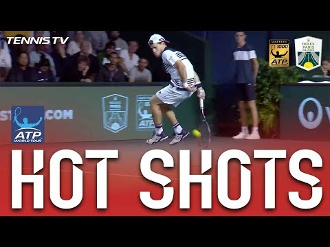 Hot Shot Of The Game By Tennis Player Schwartzman | HD Highlights