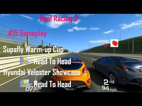 Road Card International 2018 Real Racing 3 #15 Gameplay || Ford Focus RS Hyundai Veloster Turbo