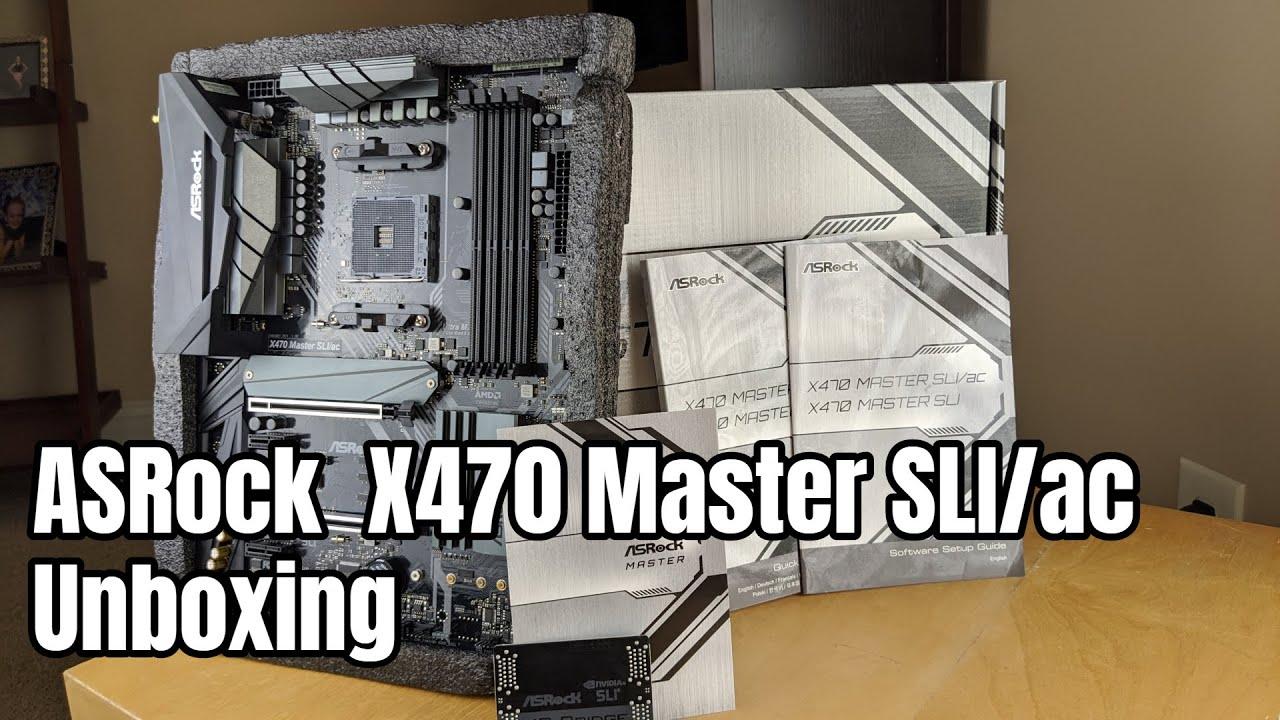 Asrock x470 master sliac