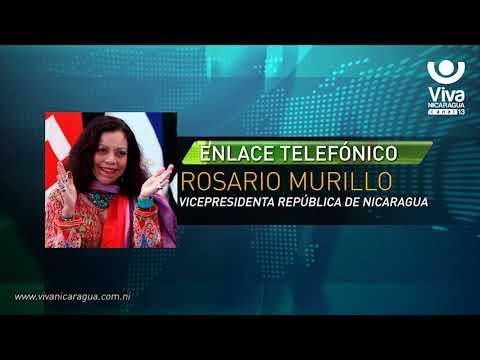 Comunicación Íntegra de la Compañera Rosario Murillo (06 de Abril de 2018)