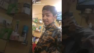 Sameer Khan tik tok video