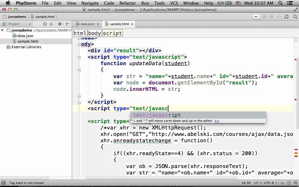 JSONP Jump Start