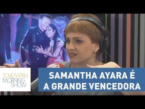 Samantha Ayara é A Grande Vencedora Da Sexta Temporada Do The Voice Brasil