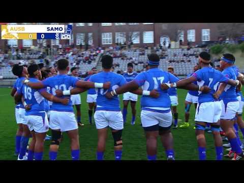 International Rugby: Australian Schools Vs Samoan Schools