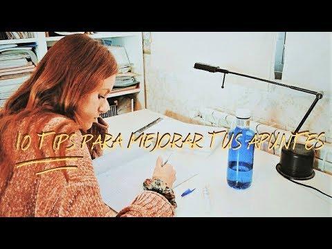 10 TIPS PARA TOMAR MEJORES APUNTES - Lara Ferrer