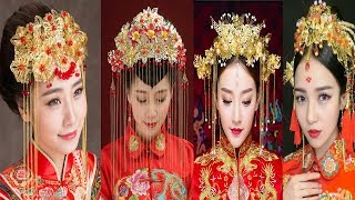 Chinese Traditional Bridal Headdress Ethnic Hair Jewelry Designs
