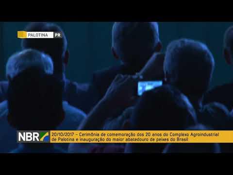Temer participa da inauguração do maior abatedouro de peixes do Brasil